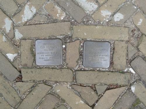 Stolpersteine Ruiterstraat 15
