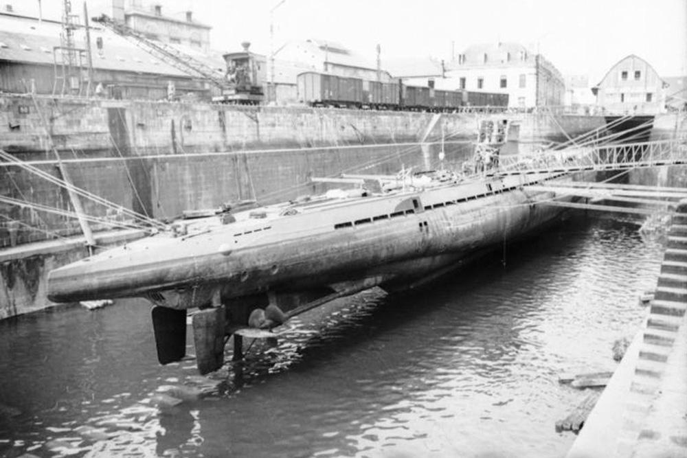 Scheepswrak U-40