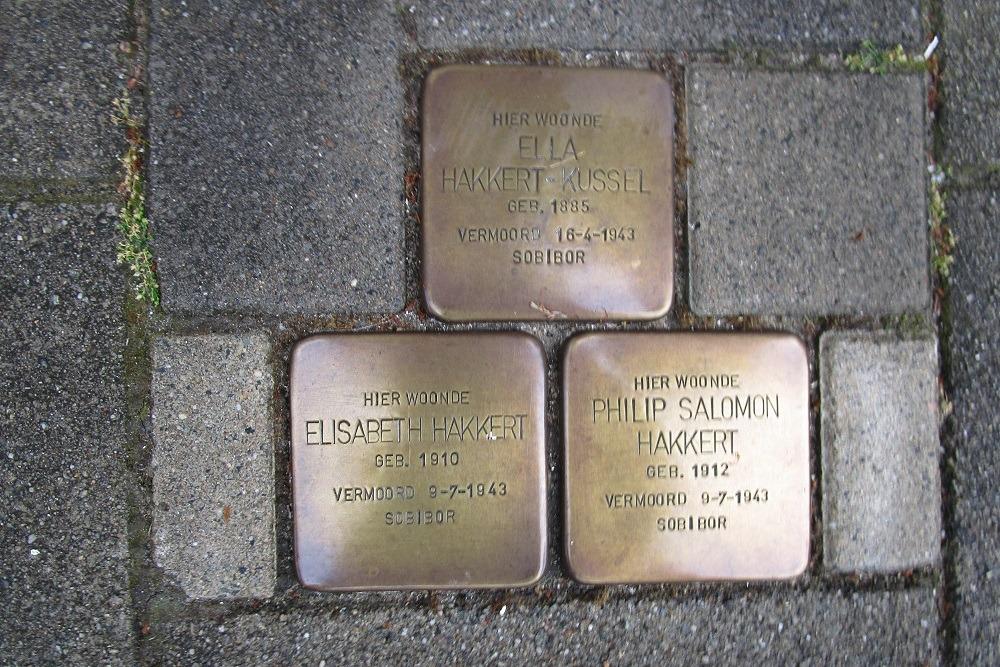 Remembrance Stones Sloestraat 9