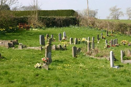 Oorlogsgraf van het Gemenebest St Michael Churchyard