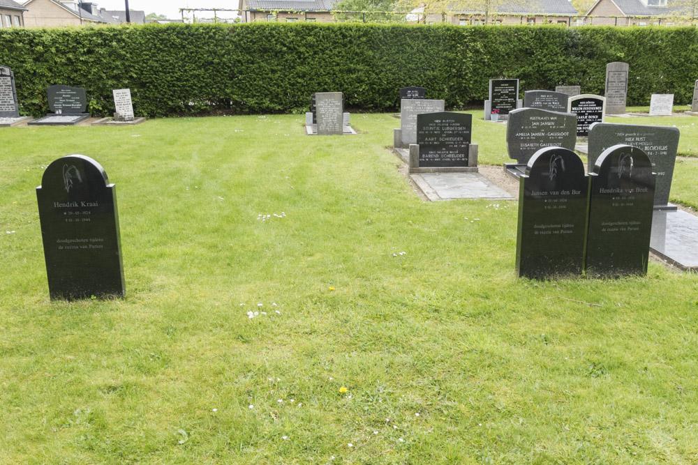 Graven Slachtoffers Razzia Gemeentelijke Begraafplaats Putten