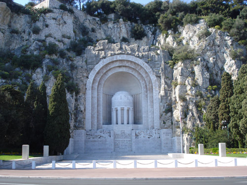 War Memorial Nice