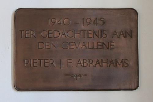 Plaque Killed Railway-Employee Simpelveld
