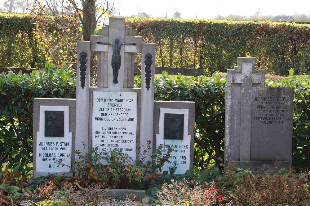 Dutch War Graves Roman Catholic Cemetery Spanbroek
