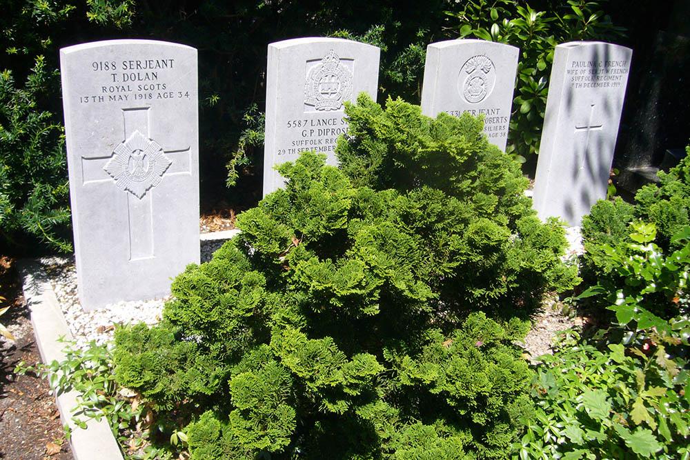 Oorlogsgraven van het Gemenebest Rooms Katholieke Begraafplaats Den Haag