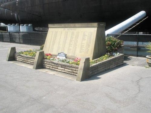 Monument Verdwenen Onderzeeboten