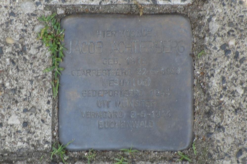 Herdenkingssteen Cornelis Houtmanstraat 6