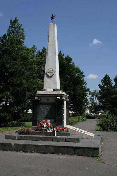Mass Grave Soviet Soldiers Lucenec