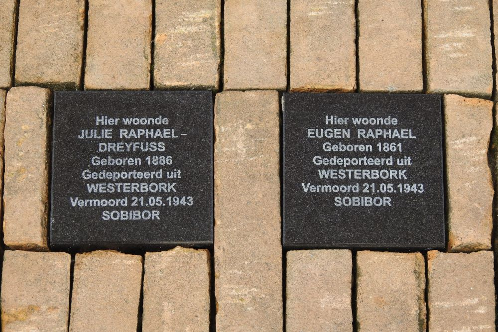 Remembrance Stones Haarstraat 76