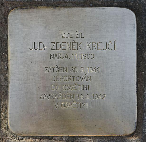Remembrance Stone Sedlákova 51