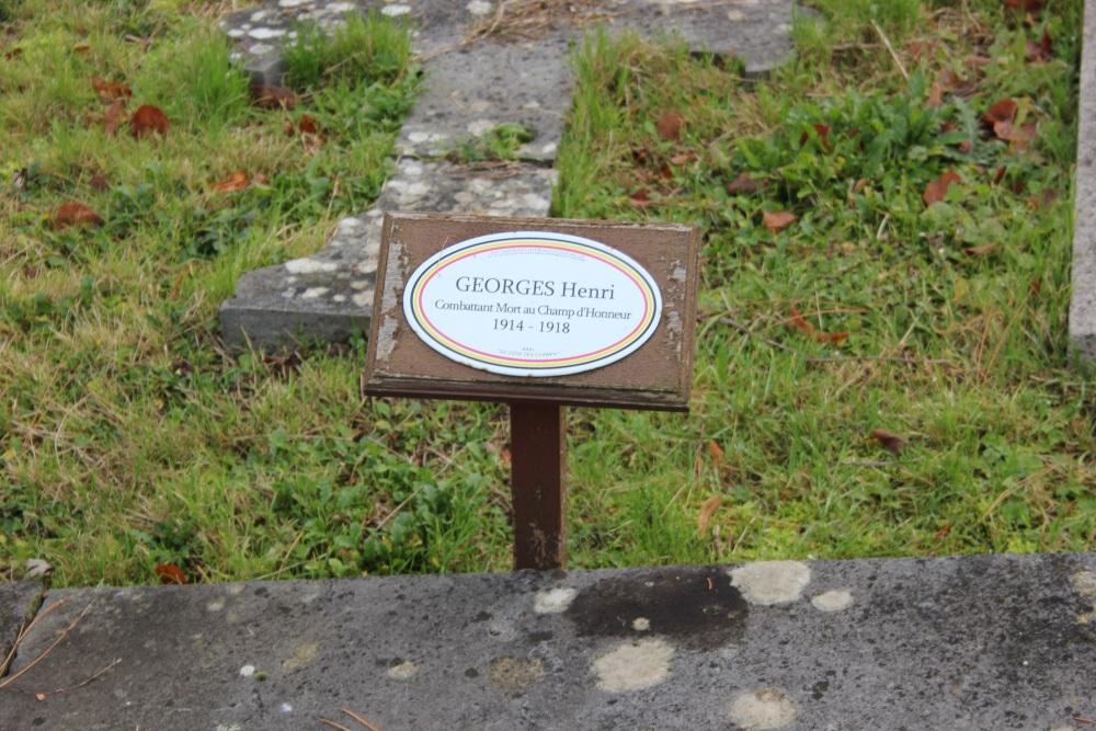 Belgian War Graves Baulers