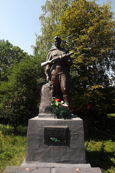 Mass Grave Soviet Soldiers Turiya