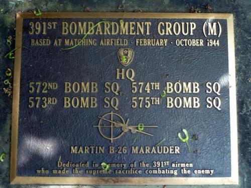 Monument 391st Bombardment Group (M)