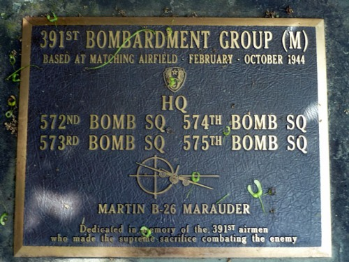 Memorial 391st Bombardment Group (M)