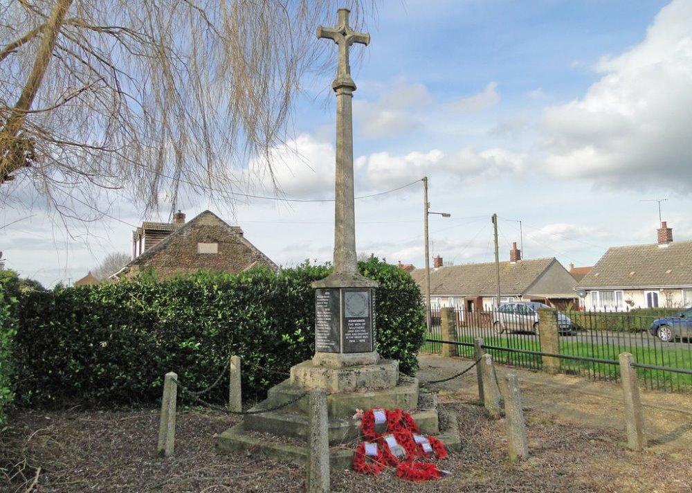 War Memorial Southery