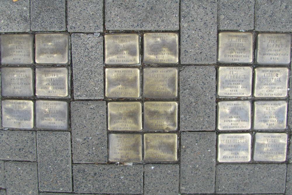 Stolpersteine Richard-Wagner-Straße 23