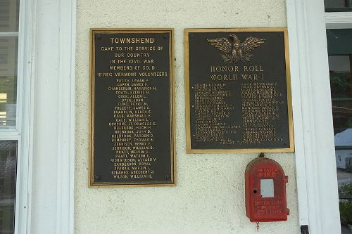 Veterans Memorial Townshend