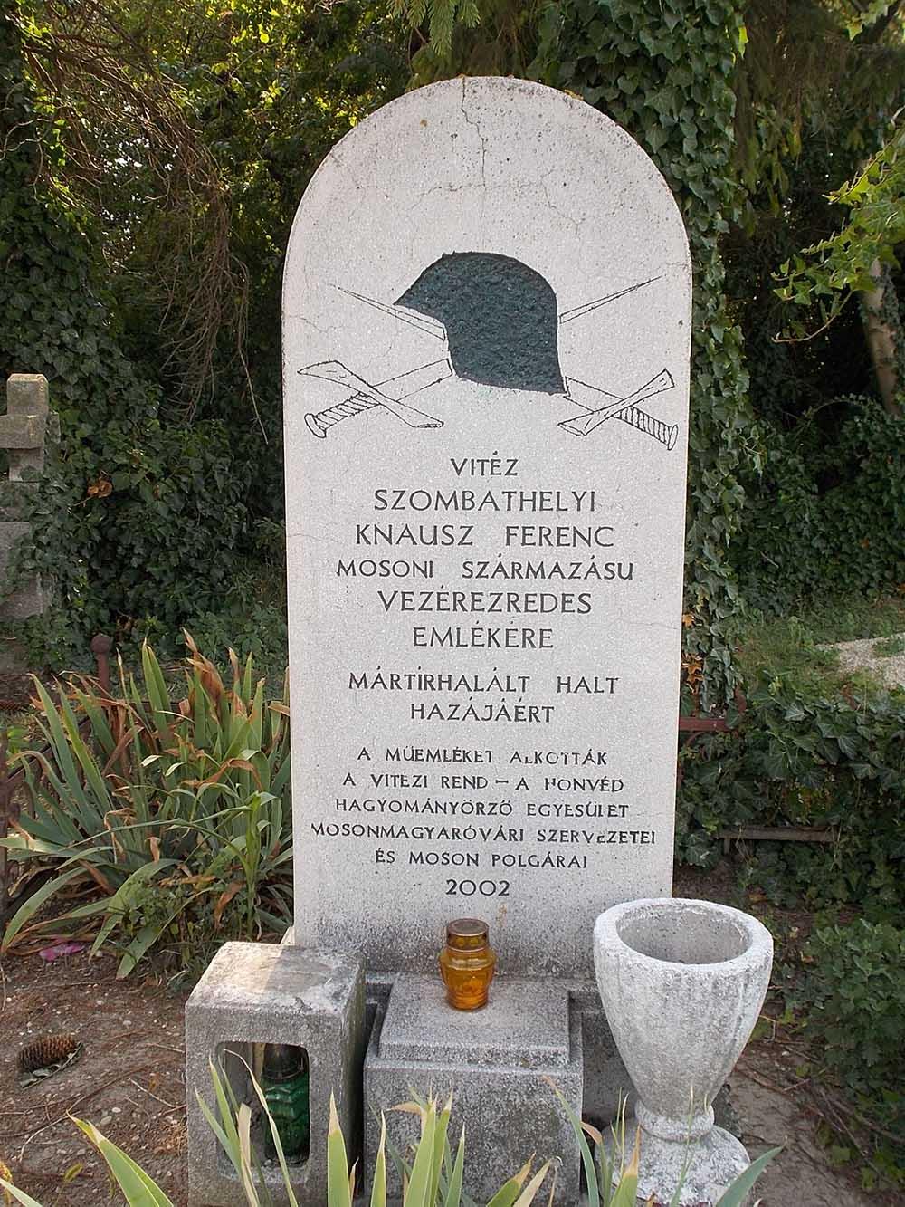 Monument Ferenc Szombathelyi