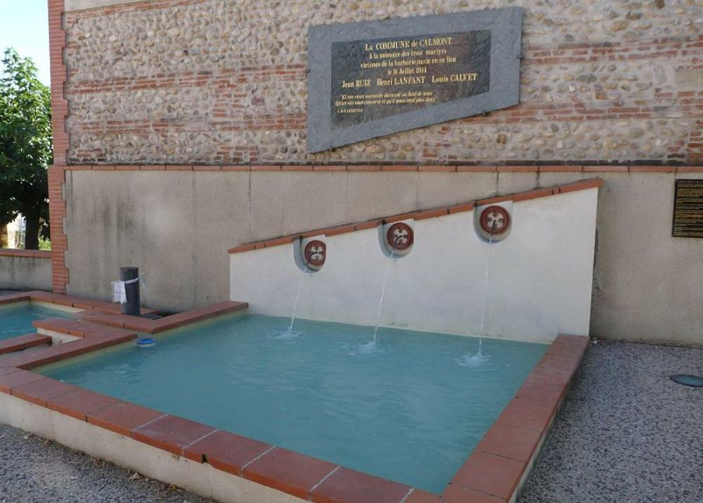 Herdenkingsfontein Executie 16 Juli 1944