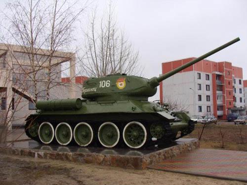 T-34/85 Tank Militaire Dorp