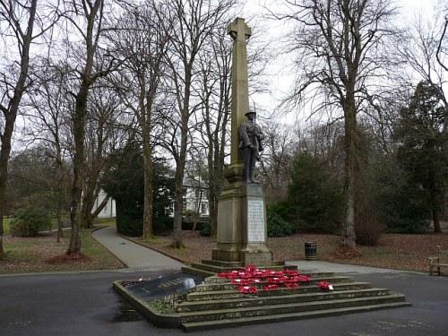 War Memorial Tredegar