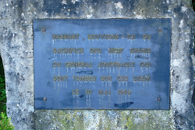 Memorial Killed French Soldiers