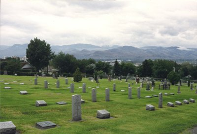 Commonwealth War Graves Kamloops Cemetery