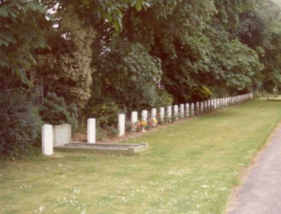 Commonwealth War Graves Driffield Cemetery
