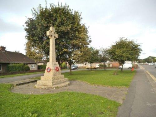 War Memorial Whittington Moor