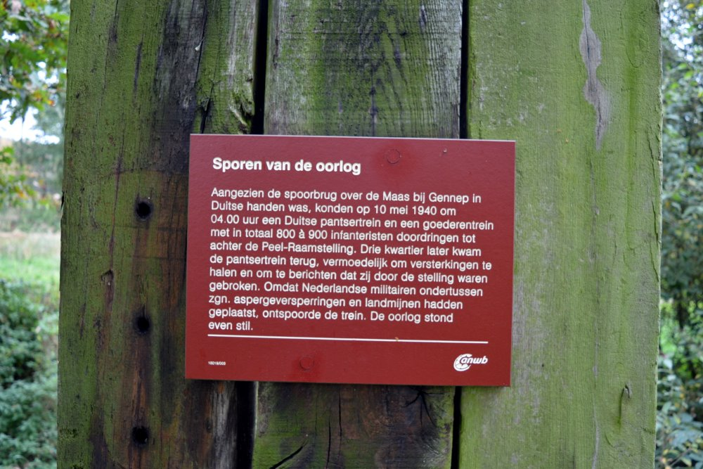 Peel-Raamstelling - Asperge Railwayblocks 'Duits Lijntje'