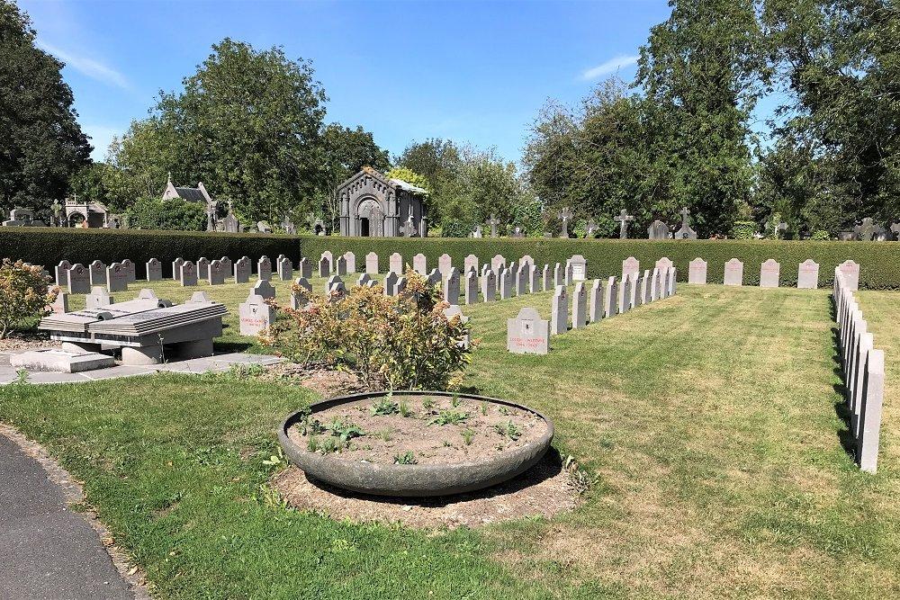 Belgische Oorlogsgraven Doornik