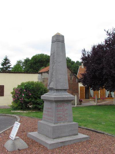 War Memorial Estrébœuf