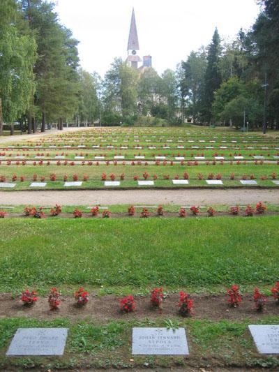 Finse Oorlogsgraven Rovaniemi