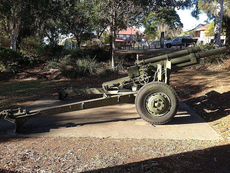 105 mm Howitzer Inala
