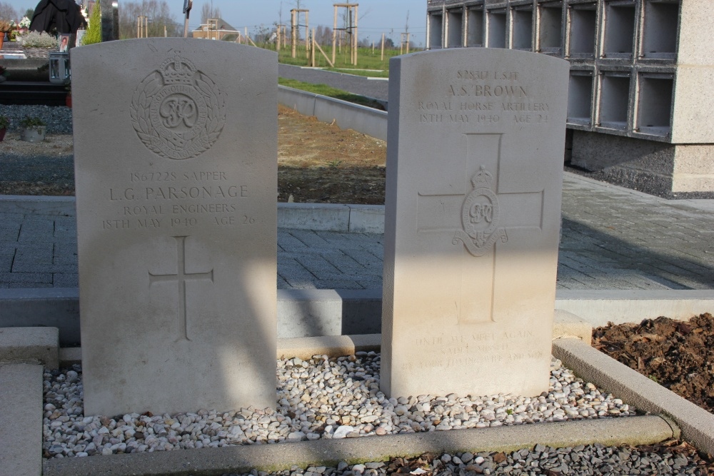 Commonwealth War Graves Aaigem