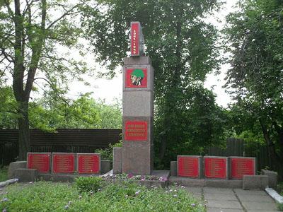 Mass Grave Soviet Soldiers Koshovogo Street