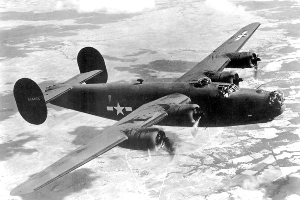 Crash Site Consolidated B-24D-CO