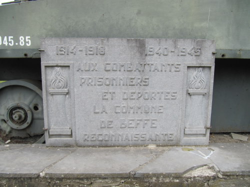Memorial Plaque Commune Beffe