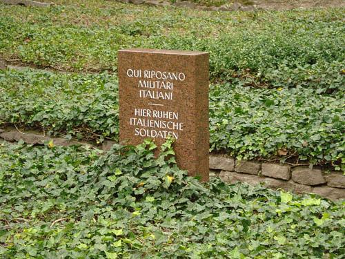 Mass Grave Italian Prisoners of War