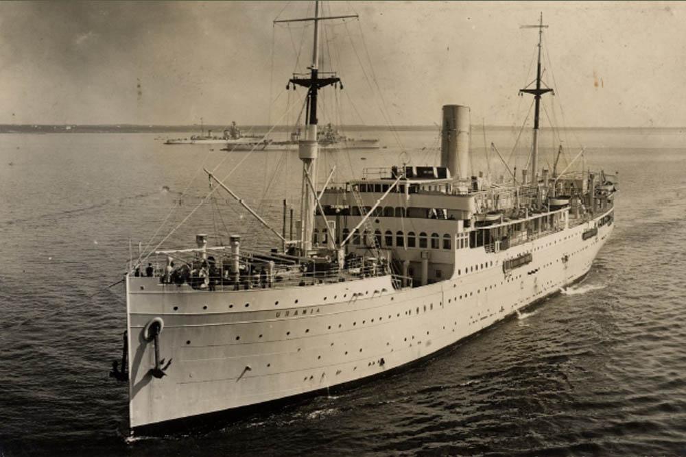 Shipwreck Urania