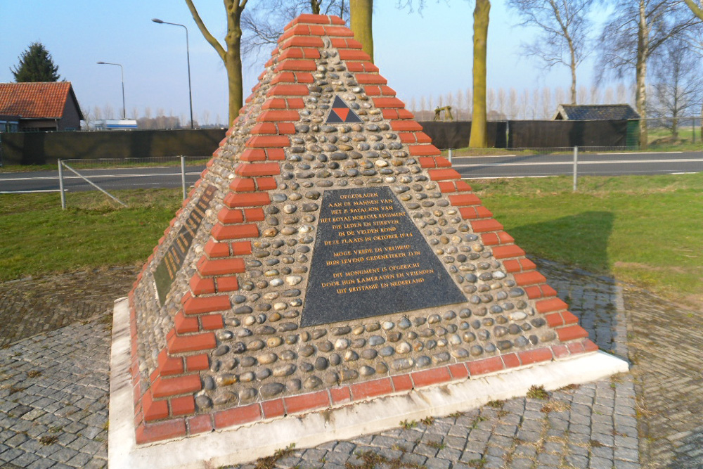 Monument 1e Bataljon van het Royal Norfolk Regiment