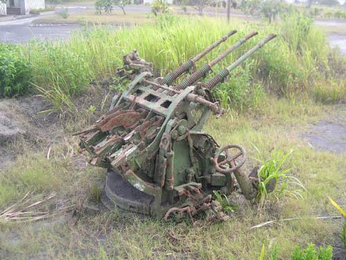 Japanse Type 96 (25mm) Luchtafweergeschut Rabaul