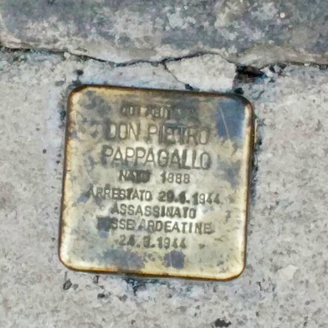 Stumbling Stone Via Urbana 2