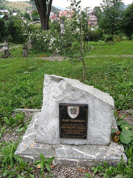 Memorial Stone Mieczyslaw Padol