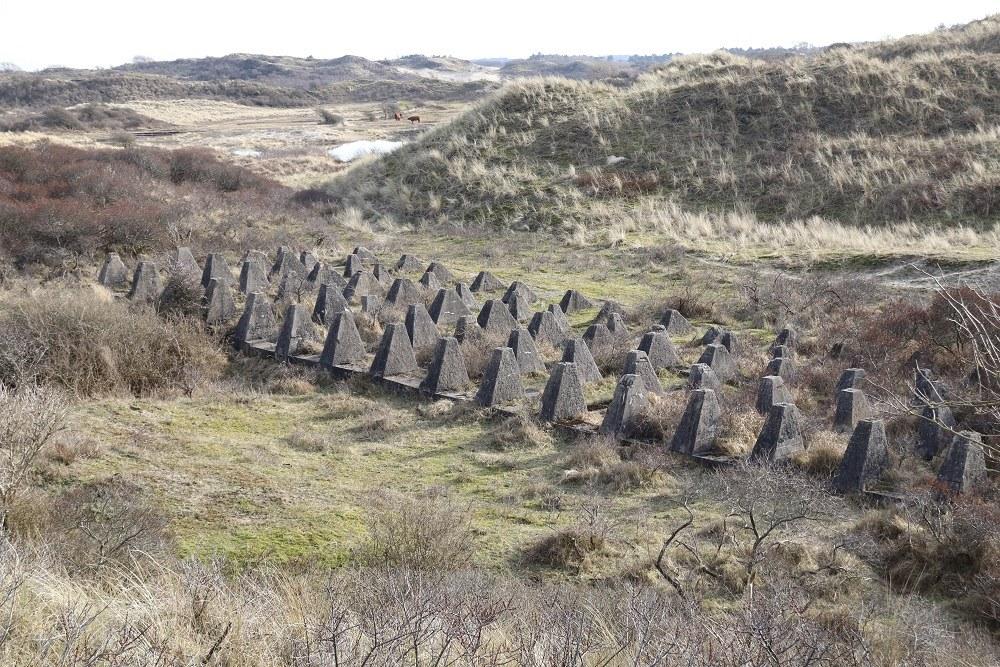 German Tank Barrier IJmuiden