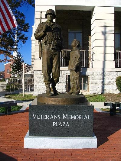 Monument Veteranen Shelbyville