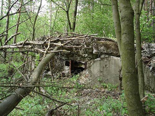 Stalinlinie - Restant Kazemat Nr. 528