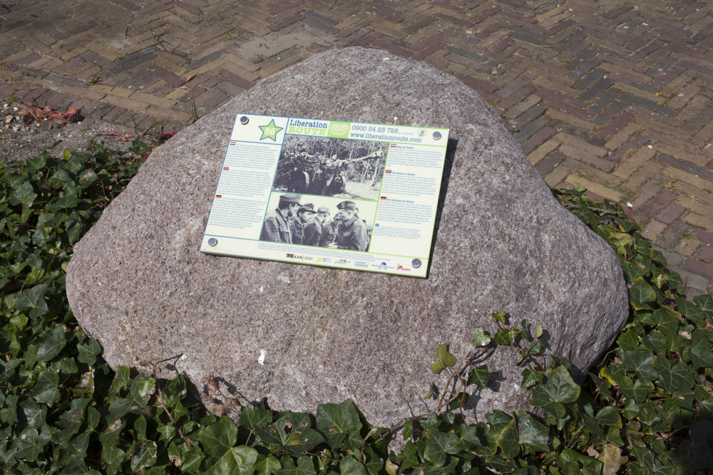 Liberation Route Marker 56