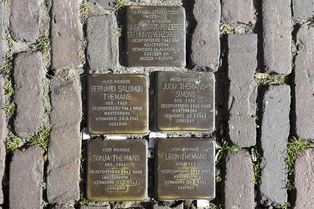 Stumbling Stones Nieuwegracht 92