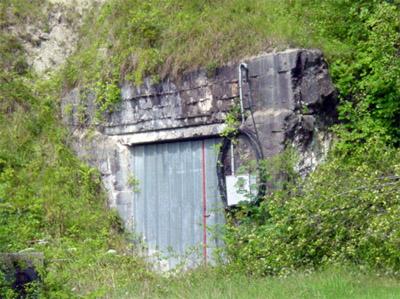 Ondergrondse V2 opslagtunnels